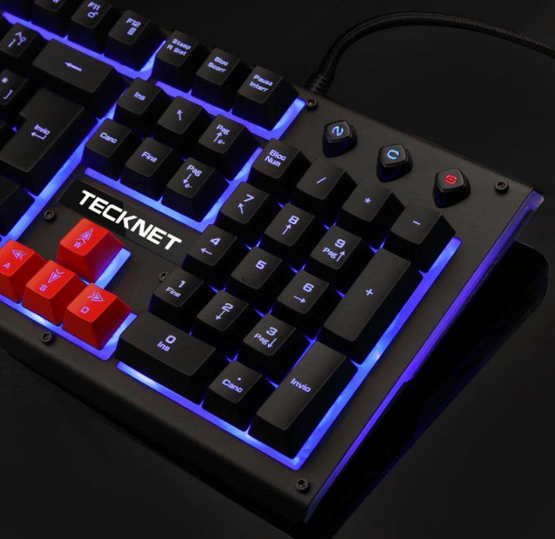 Guida all'acquisto di una tastiera da gaming Tecknet, info e prezzi